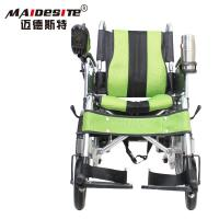 Wholesale DLY-6001A Handicapped Electric Folding Wheelchair With Battery 130kg from china suppliers