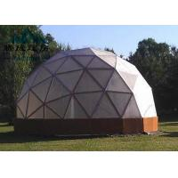 China Flame Retardent Large Dome Tent , Dome Event Tent For Outdoor Camping on sale