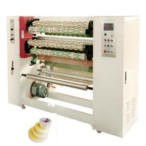 Wholesale BOPP Scotch Tape 1500kg Jumbo Roll Slitter Rewinder Machine from china suppliers