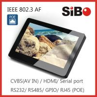 China 7 Inch Capacitive Touch Screen Android POE Tablet With RJ45 USB Host/Device on sale