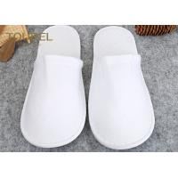 Wholesale Luxury With Unisex Size White Spa Slippers For Men And Women , Disposable House Slippers from china suppliers