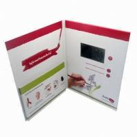 Wholesale Magnetic switch LCD screen Video Greeting Card for Precious Mothers