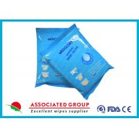 Buy cheap Medical Bathing Wet Wash Gloves Disposable Nonwoven Gloves No Irritation from wholesalers