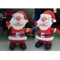 Wholesale 2M 3m 4m 5m Inflatable Holiday Decor / Inflatable Santa Claus For Christmas from china suppliers