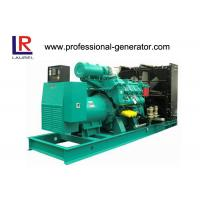 China 720kw / 900kVA Middle Speed Open Diesel Generator 1200rpm 60Hz on sale