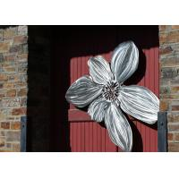 Wholesale Brushed Finishing Outdoor Metal Sculpture Art Flower Sculptures For Public Decoration from china suppliers