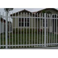 garrison fence panel 65mm tube wall thick 2.00mm with security bracket for sale