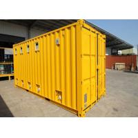 Insulated Cargo ISO Modified Shipping Containers Garage For Public Washroom