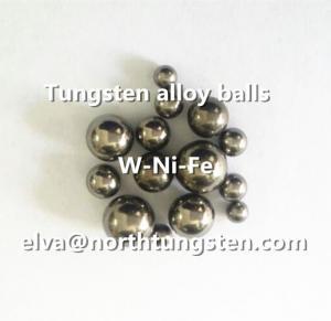 Buy cheap Tungsten alloy ball, hunting shot, pellet, shotgun, fishing weight, shooting from wholesalers