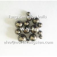 Buy cheap Tungsten alloy ball, hunting shot, pellet, shotgun, fishing weight, shooting bead, ground from wholesalers