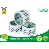Wholesale Smooth Customized Clear Printed BOPP Film Packing Tape for Carton Sealing from china suppliers