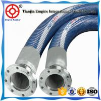 Wholesale 10 inch Blue double steel helix  reinforced  chemical composite hose from china suppliers