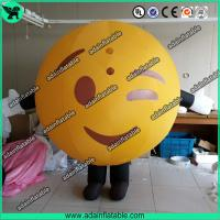 Wholesale Inflatable Mascot Costume Walking QQ Cartoon Inflatable from china suppliers