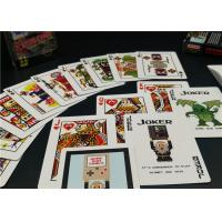 China Kids Paper Cards for Games , Customized Family Fun Card Games Playing Cards on sale