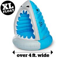 China OEM Giant Inflatable Pool Floats , Funny Inflatable Vinyl XL Shark Summer Pool or Beach Toy on sale