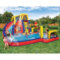 Quality Children Slide Inflatable Waterpark Waterproof Climb And Sport Playing for sale