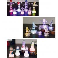 Wholesale Snow Shape Color Changing Led Night Light , Acrylic Led SnowmanFor Outdoor Decorative from china suppliers