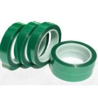 Wholesale Heat resistant PET Green Polyester Silicone Tape for powder coating from china suppliers
