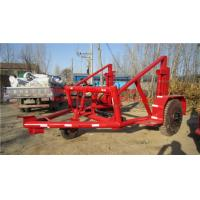 Wholesale Drum Trailer  Cable Winch  Cable Drum Trailer from china suppliers