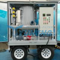 CE Certified Vacuum Transformer Oil Filtration Machine with Pheumatic Tyres for sale