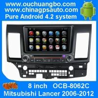 Wholesale Ouchuangbo Auto Radio Android 4.2 System for Mitsubishi Lancer 2006-2012 Car GPS Bluetooth DVD Player OCB-8062C from china suppliers