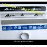 China OEM hot-selling promotional custom Reflective Slap Wristbands for sale