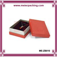 Wholesale Custom necklace paper gift box/Jewelry printed cardboad paper box ME-ZB010 from china suppliers