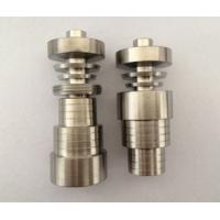 Wholesale 14&18mm Domeless Titanium Nail Ti Nail 10mm 14mm Female Grade 2 from china suppliers