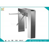 Wholesale Stainless Steel Waist Height Turnstiles Bi-directional Pedestrian Gate from china suppliers