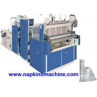 Wholesale 3 Layer Toilet Tissue Roll Slitting Rewinding Machine For Paper Making from china suppliers