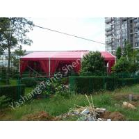 Wholesale 12M Red Fabric Cover Wedding Party Tent Decoration, Aluminum Alloy Frame Canopy from china suppliers