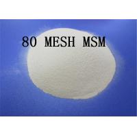 80 MESH Methylsulfonylmethane Powder Dimethyl Sulfone 67 71 0 White Crystalline