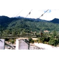 Buy cheap Large Span Steel Cable Suspension Bridge from wholesalers