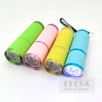 Wholesale Green Pink Yellow Blue Mini Nail Lamp Uv 9W Flashlight For Nails Curing from china suppliers