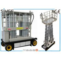 Wholesale Warehouses Self Propelled Elevating Work Platforms 6m For Two Persons from china suppliers