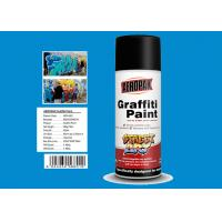 Diamond Blue Color Custom Spray Paint Resists Fading For Interior And Exterior for sale