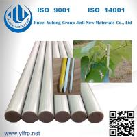 Buy cheap Fiberglass Pultruded FRP Rod/Bar fence posts fiberglass nursery stake FRP from wholesalers