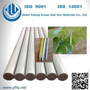 Buy cheap Fiberglass Pultruded FRP Rod/Bar fence posts fiberglass nursery stake FRP profile from wholesalers