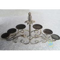 Wholesale CH-30-2 etched Acrylic hurricane candle holders from china suppliers