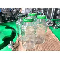 Wholesale 250ml Volume Glass Bottle Filling Line , 5.88KW Power Fillers For Glass Containers from china suppliers