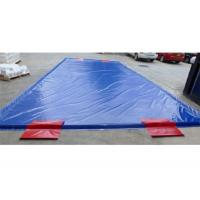 Quality Special Inflatable Car Wash Mat Superior Soft PVC Tarpaulin for sale