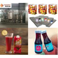 SS304 Turnkey Waxberry Beverage Juice Making Machine Processing Line CFM-B-07 for sale