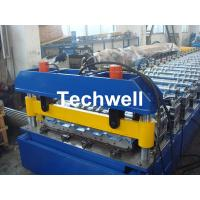 Wholesale Hydraulic cutting Metal Roofing Cold Roll Forming Machine 13 - 22 Stations TW27-195-780 from china suppliers