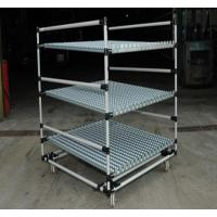 Wholesale Heavy Duty steel Pipe Rack with Caster Wheels , Lean Pipe and Black Pipe Joint Assemble from china suppliers