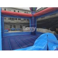 Quality Fireproof Safe Kindergarten Baby Balloon Inflatable Bounce House / Inflatable Jumping House for sale