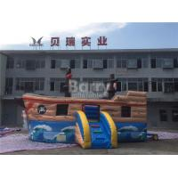 Wholesale Commercial Kids Blow Up Inflatable Pirate Ship Combo With Lead Free Material from china suppliers