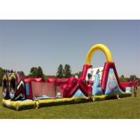 Wholesale Big Inflatable Obstacle Course EN14960 , Tunnel Obstacle Course For Garden from china suppliers
