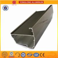 Electrolytic Coated Aluminum Window Frame Profile T5 , T6 Temper for sale