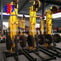 Wholesale Huaxiamaster supply KQZ-180D wheeled deep hole drilling machine air compressor from china suppliers