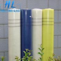 Wholesale 5x5mm 80GSM 60GSM Fiberglass Products Fabric Alkali resistant Fiberglass Mesh Rolls For Mosaic from china suppliers